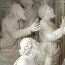 Les Apôtres voient la Vierge s'élever au Ciel