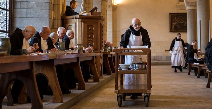 réfectoire abbaye de Solesmes