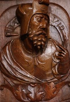 le roi David Solesmes